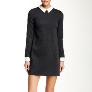 FAB🖤 Cynthia Steffe Collared Ponte Knit Dress 4